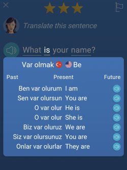 mondly bad translation of Turkish grammar